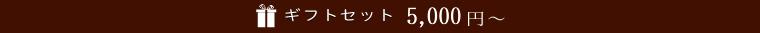 ギフトセット 5,000円〜