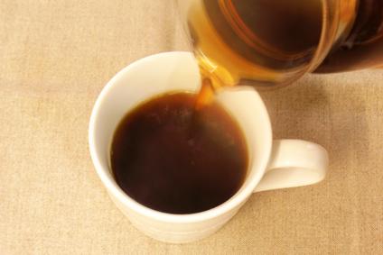 煮出したたんぽぽコーヒー
